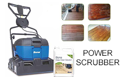 Creaparquet power scrubber